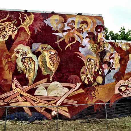 Photo of CPMAP Mural in Kensington, Philadelphia