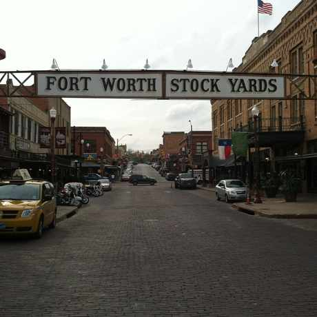Photo of Fort Worth Stockyards National Historic District in Fort Worth