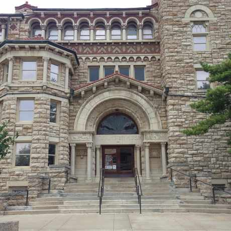 Photo of KU Natural History Museum--Dyche Hall in Lawrence