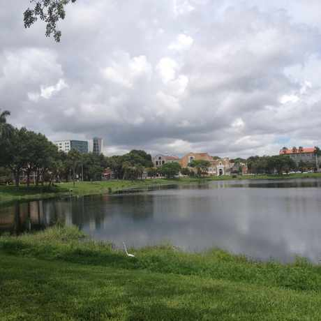 Photo of Mirror Lake Park in Downtown, St. Petersburg
