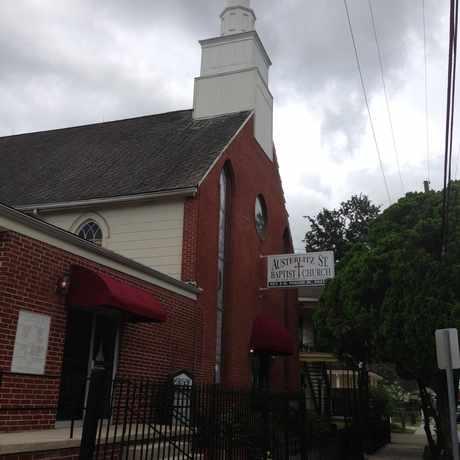 Photo of Austerlitz St. Baptist Church in East Riverside, New Orleans