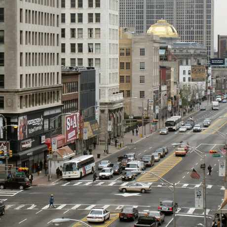 Photo of Broad St in Newark Central Business District, Newark