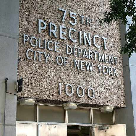 Photo of The 75th Precinct in East New York, New York
