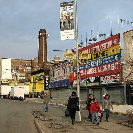 Photo of Shopping in the South Bronx in Concourse Village, New York