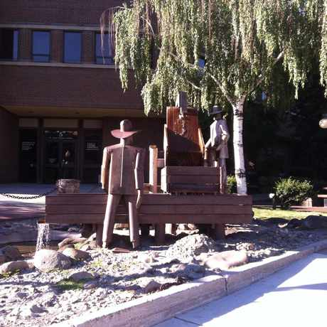 Photo of Prospector Fountain in Helena